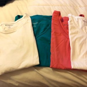 Roamans bundle of 5 t shirts. Roamans size 1x.